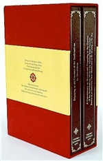 Bodhisattvacharyavatara: Engaging in the Conduct of the Bodhisattvas (2 Volumes)  By: Shantideva, with commentary by Sazang Mati Panchen