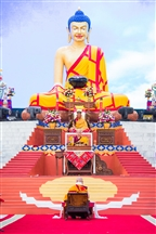 Offering to the Guru Ceremony (card)Kagyu Monlam 2016