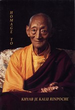 Homage to Kalu Rinpoche  By: Jorgensen et al.